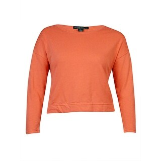 Lauren Ralph Lauren Women's Solid French Terry Sweater