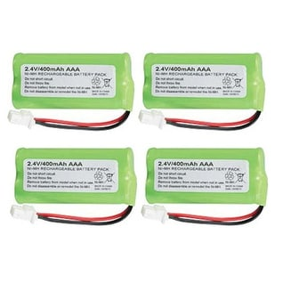 Replacement AT&T BT183342 Battery for CRL32102 / CRL32202 Phone Models (4 Pack)