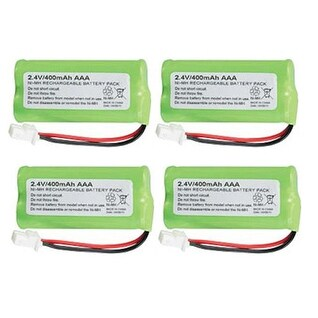 Replacement Battery 183342 for AT&T CL82351/ CL82450/ CL83201/ TL30100/ TL32100/ TL32300 Phone Models - 4 Pack