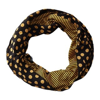 Link to Tickled Pink Dots & Stripes Infinity Scarf Similar Items in Scarves & Wraps