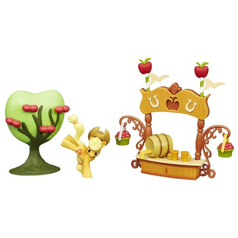 My Little Pony Friendship is Magic Collection Sweet Apple Juice Stand Set - multi