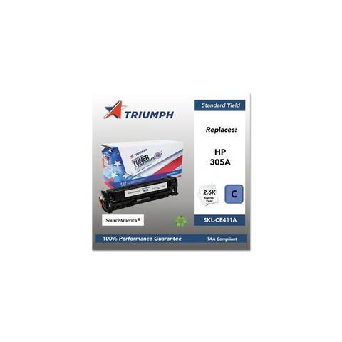 Triumph Remanufactured 305A Toner Cartridge - Cyan Toner Cartridge