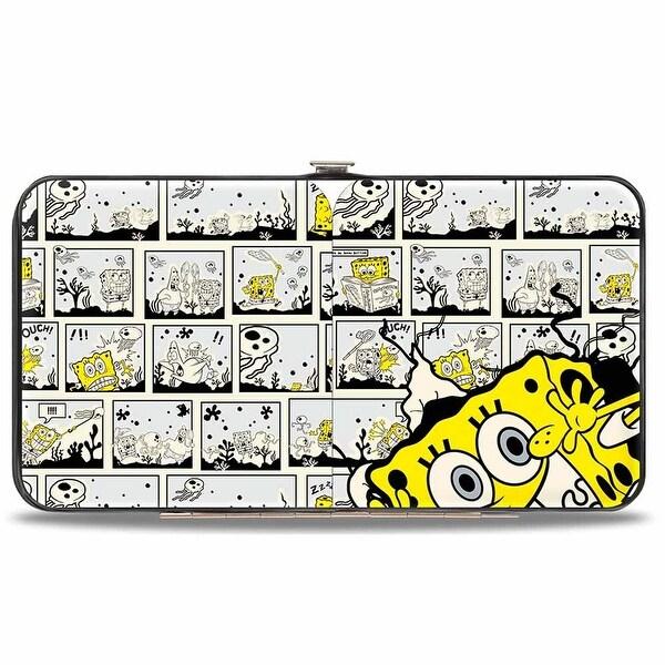 SpongeBob Breakthrough Scene Blocks Hinged Wallet - One Size Fits most
