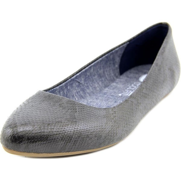 Dr. Scholl's Really  W Pointed Toe Synthetic  Flats