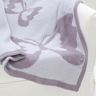 Lambs & Ivy Purple Signature French Lavender Blanket