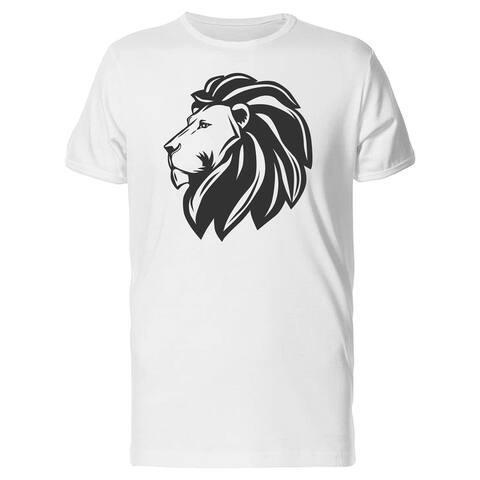 Lions Head Profile Tee Men's -Image by Shutterstock