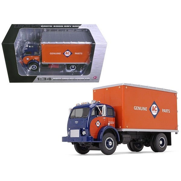 1953 White 3000 COE Delivery Van Allis-Chalmers Parts & Service 1/34  Diecast Model Car by First Gear