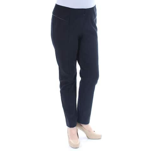 6dc4dc5506d ALFANI Womens Black Skinny Wear To Work Pants Size  24W