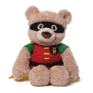 "12"" Soft and Silky Plush Hardwin the Bear ""Robin"" Children's Stuffed Animal Toy - Brown"