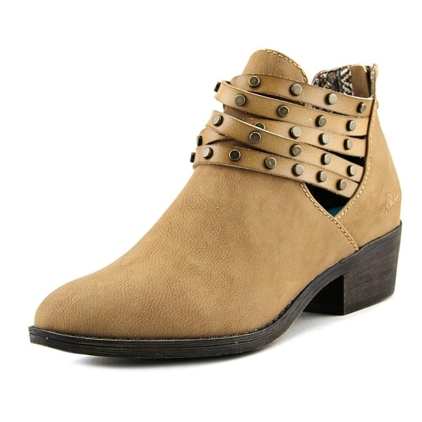 Blowfish Sujan Women Round Toe Synthetic Bootie