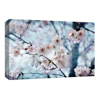 """PTM Images 9-148155  PTM Canvas Collection 8"""" x 10"""" - """"Flowering Joy"""" Giclee Botanical Art Print on Canvas"""