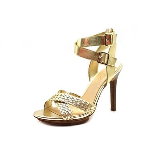 Marc Fisher Cari Open Toe Leather Sandals