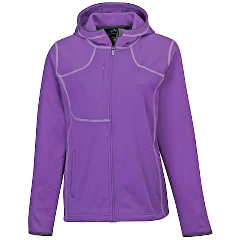 "Tri-Mountain Plus Ladies ""Lady Mustang"" Performance Hoodie"