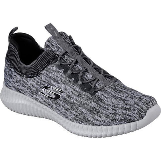 Shop Skechers Men S Elite Flex Hartnell Sneaker Gray Black