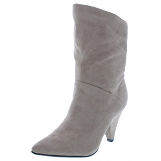 Indigo Rd. Womens Gerald 2 Ankle Boots Faux Suede Pointed Toe