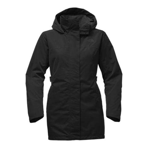 The North Face Laney Trench II TNF Black Women's Coat SZ: L