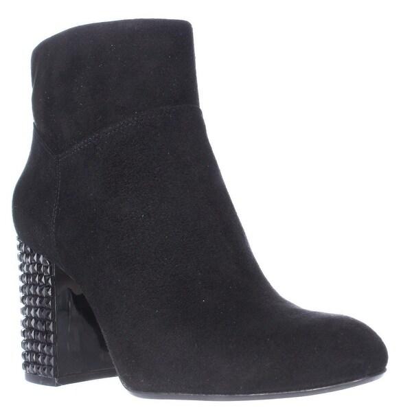 MICHAEL Michael Kors Arabella Studded Heel Ankle Boots, Black