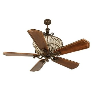 """Craftmade K10882 Cortana 56"""" 5 Blade DC Indoor Ceiling Fan - Blades and Remote Included"""