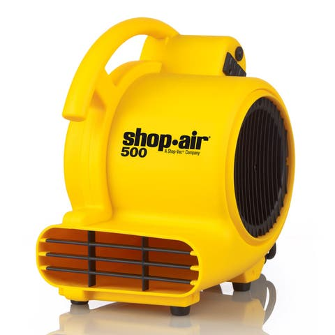Shop-Vac 1032000 Shop-Air Air Mover with 3 Operating Positions, 500 Max. CFM