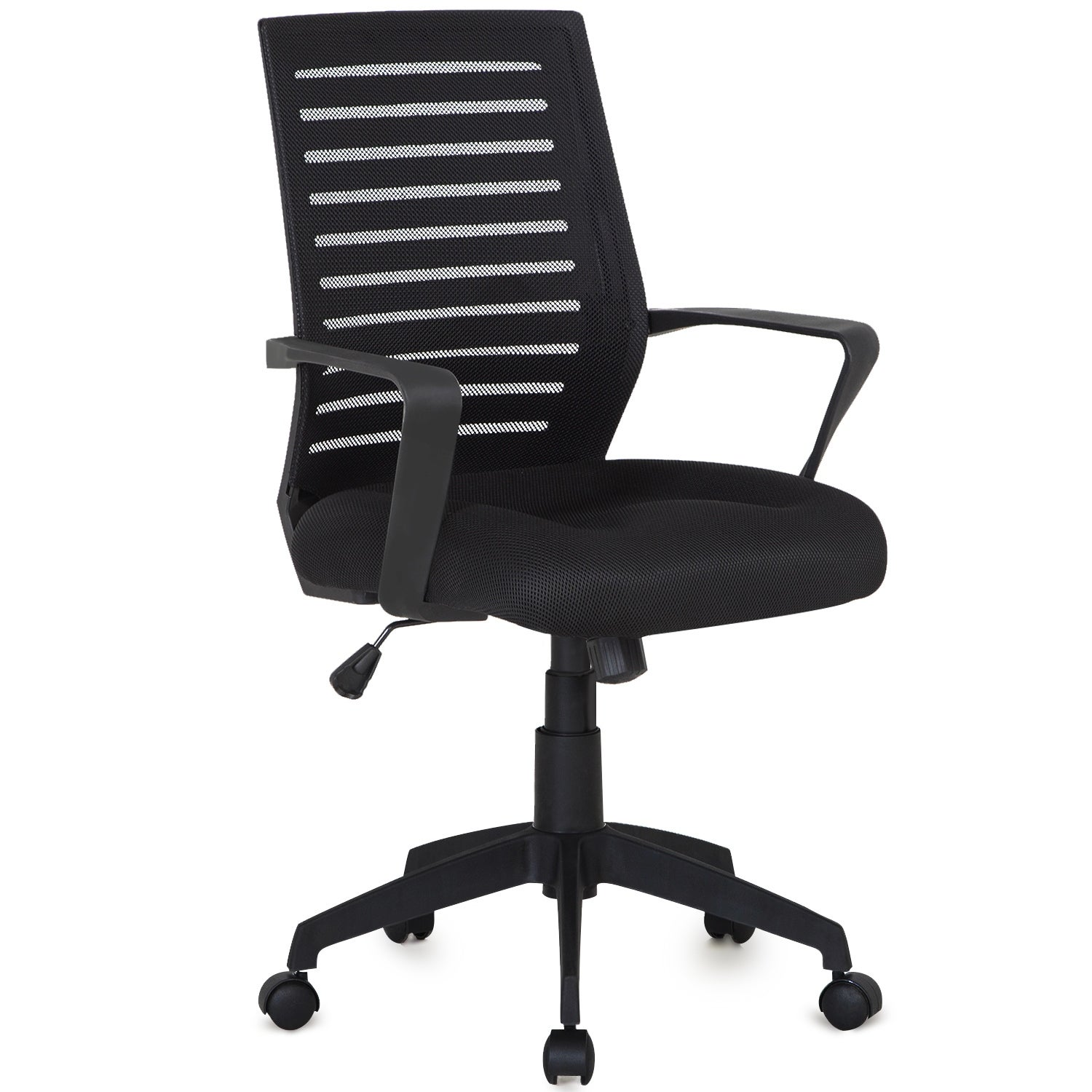 Adjustable Computer Chair Black Comfortable Mesh Chair ...
