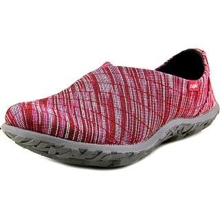 Cushe Slipper Loa Round Toe Canvas Walking Shoe