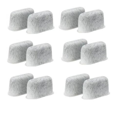 Blendin 12-Pack Replacement Charcoal Water Filters for Cuisinart Coffee Machines,DCCF-12