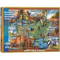 "Jigsaw Puzzle 1000 Pieces 24""X30""-National Parks"