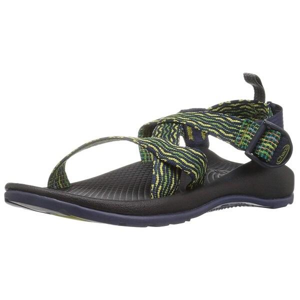 7e3dba694fa4 Shop Kids Chaco Boys Z1 Ecotread Fabric Ankle Strap Sport Sandals ...