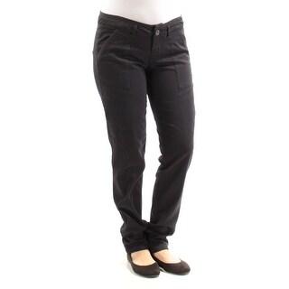Womens Black Straight leg Pants Juniors Size 5