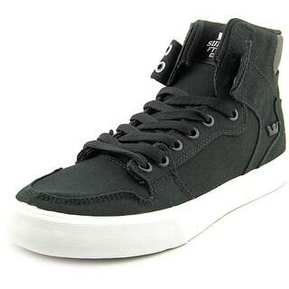 Supra Vaider D Round Toe Canvas Sneakers