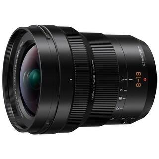 Panasonic Lumix LeicaDG Vario-Elmarit8-18mmf/2.8-4.0 Professional MFT Lens - black