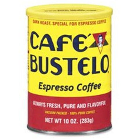 10 oz Cafe Bustelo Espresso Blend Coffee, Brown - 50 Count