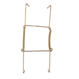 Link to Metal 6 to 7 Inch Spring Plate Hangers Wall Rack Holder Hook Display - Gold Tone Similar Items in Kitchen Storage