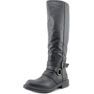 Blowfish Frost Women Round Toe Synthetic Black Knee High Boot