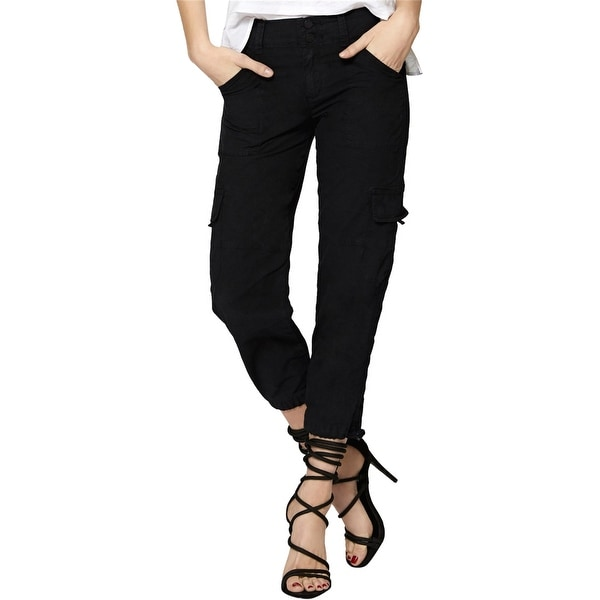 Sanctuary Clothing Womens Cropped Casual Cargo Pants. Opens flyout.