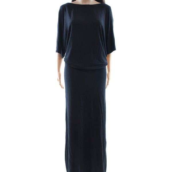 2f7eae7b251 Shop Go Couture NEW Black Women s Size Medium M Boat Neck Blouson Dress -  Free Shipping On Orders Over  45 - Overstock - 18375423