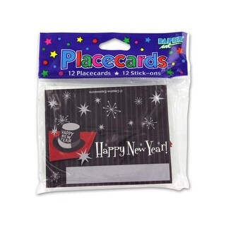 New Year number 039; s placecards pack of 12 - Case of 144