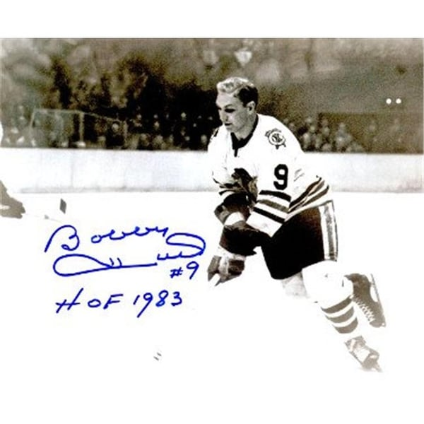 34ede94d4 Bobby Hull Signed Chicago Blackhawks B W - Free Shipping Today -  Overstock.com - 23847232
