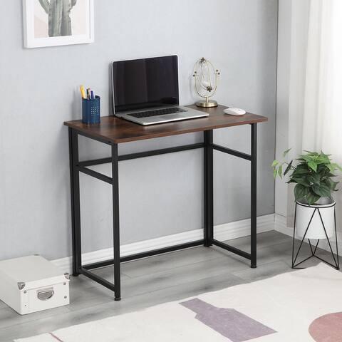 Merax Small Multifunctional Foldable Computer Desk