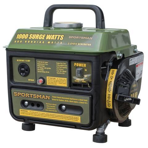 Sportsman 1000 Surge Watt Portable Generator - Not CARB Compliant - 1000 W