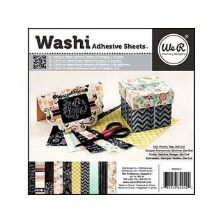 We R Memory Washi Adhesive Pad 6x6 Chalkboard