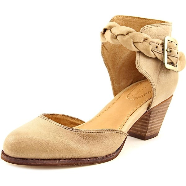 Corso Como Burlap Women Pointed Toe Leather Nude Heels