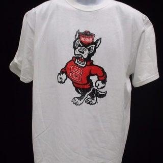 Minor Flaw North Carolina State Wolfpack Mens Size L Large White Shirt