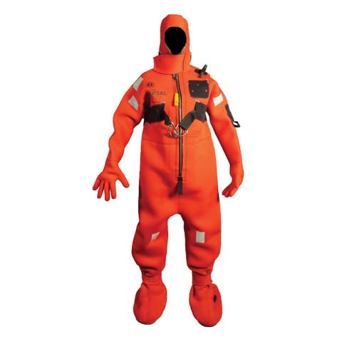 Mustang neoprene immersion suit w/harness adult small