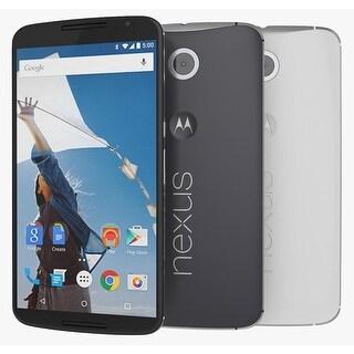 Motorola Nexus 6 XT1103 32GB Unlocked GSM Quad-Core Android Phone w/ 13MP Camera (Certified Refurbished)