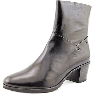Gerry Weber Casey 05 Women Round Toe Leather Black Ankle Boot