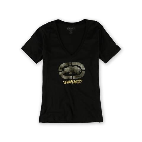 Ecko Unltd. Womens Studded Weld Graphic T-Shirt