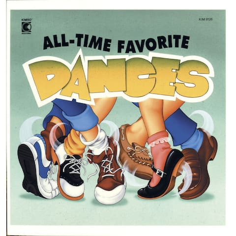 Kimbo Educational All Time Favorite Dances CD, Ages 2 and Up