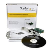 Startech St1000spexd4 Dual Port Gigabit Pci Express Server Network Adapter Card
