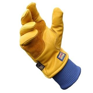 Wells Lamont HydraHyde Grain Cowhide Gloves for Men-Large 1202L